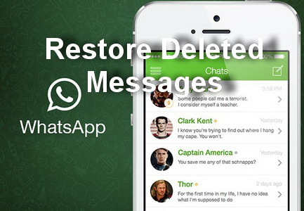"""Tips to restore deleted WhatsApp messages in Samsung Galaxy S6 Edge """" Samsung Galaxy S Manuals"""