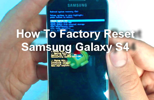 how to put samsung s5 phone to factory settings